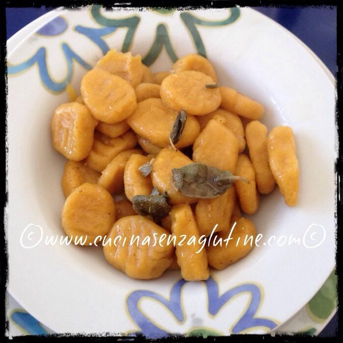 Gnocchi senza glutine alla zucca
