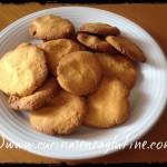 Biscotti di mais e cannella