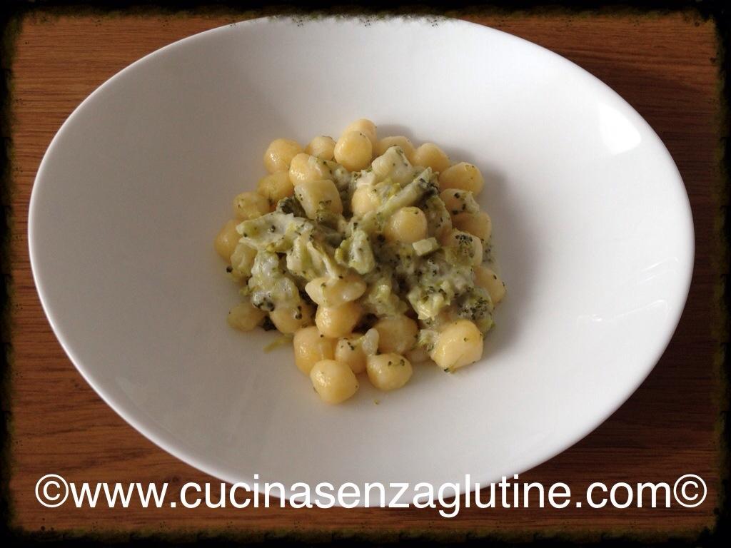 gnocchi senza glutine alle verdure