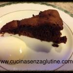 Torta cioccolato e fragole senza glutine con crema al mascarpone