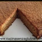 Torta di mele rustica con farine di legumi senza glutine e lattosio