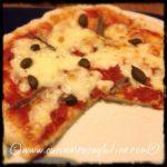 Pizza senza glutine con farina Nutrifree