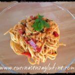 Spaghetti senza glutine con cozze e vongole