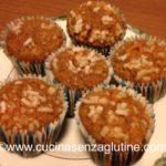 Muffin senza glutine arancia e cannella