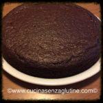 Torta semplice e veloce al cioccolato senza glutine