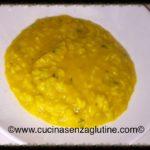 Crema di zucca e riso